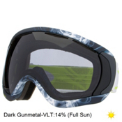 Oakley Canopy Goggles 2015, Burned Out Gunmetal-Dark Grey, medium