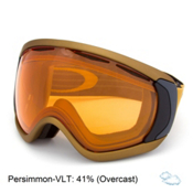 Oakley Canopy Goggles, Copper Black-Persimmon, medium