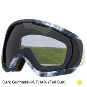 Oakley Canopy Goggles, Burned Out Gunmetal-Dark Grey, medium