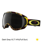 Oakley Canopy Goggles, Stumped Rasta-Dark Grey, medium