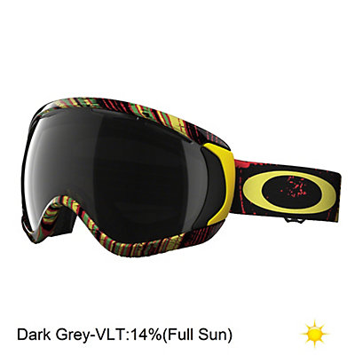 Oakley Canopy Goggles, Matte Black-H.i. Yellow, viewer