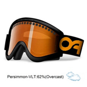 Oakley E Frame Goggles 2013, Night Rider-Persimmon, medium