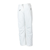 Obermeyer Malta Womens Ski Pants, White, medium
