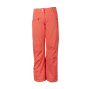 Obermeyer Malta Womens Ski Pants, Hot Coral, medium