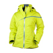 Obermeyer Logan Cocona Womens Insulated Ski Jacket, Lightsaber, medium