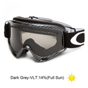 Oakley O Frame and Extra Lens Goggles 2013, Carbon Fibre Print-Dark Grey, medium
