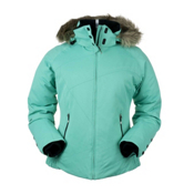 Obermeyer Tuscany Petite Womens Insulated Ski Jacket, Pool Green, medium