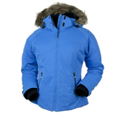Obermeyer Tuscany Petite Womens Insulated Ski Jacket, Blue Hawaii, medium