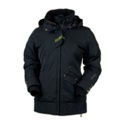 Obermeyer Eden Womens Insulated Ski Jacket, Black, medium