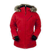 Obermeyer Positano Womens Insulated Ski Jacket, True Red, medium