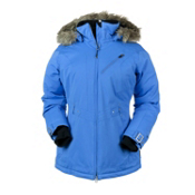 Obermeyer Positano Womens Insulated Ski Jacket, Blue Hawaii, medium