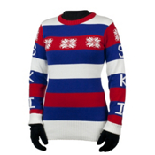 Obermeyer Eskimo Kisses Womens Sweater, Nautical, medium