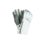 Obermeyer Alpine Womens Gloves, White, medium