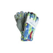 Obermeyer Alpine Womens Gloves, Murano Glass Print, medium