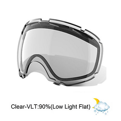 Oakley Canopy Goggle Replacement Lens 2018, Clear, viewer
