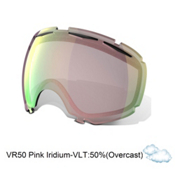 Oakley Canopy Goggle Replacement Lens 2017, Vr50 Pink Iridium, medium