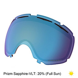 Oakley Canopy Goggle Replacement Lens 2018, Prizm Sapphire Iridium, 256
