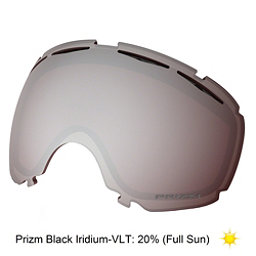 Oakley Canopy Goggle Replacement Lens 2018, Prizm Black Iridium, 256