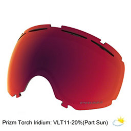 Oakley Canopy Goggle Replacement Lens 2018, Prizm Torch Iridium, 256