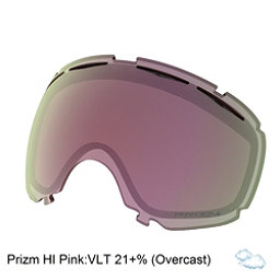 Oakley Canopy Goggle Replacement Lens 2018, Prizm Hi Pink Iridium, 256