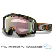 Oakley Crowbar Kazu Kokubo Asian Fit Goggles 2013, Sleeping Giant-Vr50 Pink Iridium, medium