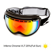 Arnette Skylight Goggles 2013, Midnight Black-Inferno Chrome, medium