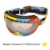 Arnette Skylight Goggles 2013, Color Blocks-Shadow Chrome, medium