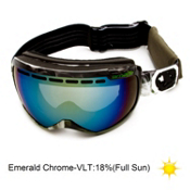Arnette Skylight Goggles 2013, Up In Smoke-Emerald Chrome, medium