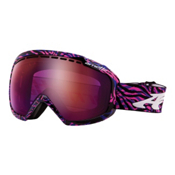 Arnette Skylight Goggles 2013, Psychedelic Pinkk Blue-Raspberry Ice Chrome, medium
