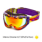 Arnette Mercenary Goggles 2013, Psychedelic Too-Inferno Chrome, medium