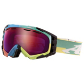 Arnette Mercenary Goggles 2013, Color Blocks-Raspberry Ice Chrome, medium