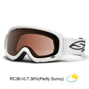 Smith Gambler Kids Goggles 2013, White-Rc36, medium