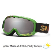 Smith Gambler Kids Goggles 2013, Irie Fader-Ignitor Mirror, medium