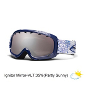 Smith Gambler Kids Goggles 2013, Violet Jolene-Ignitor Mirror, medium