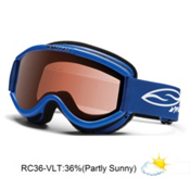 Smith Challenger Kids OTG Goggles 2013, Blue-Rc36, medium