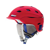 Smith Vantage Womens Helmet 2013, Neon Red Typepress, medium