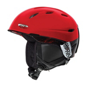 Smith Transport Helmet 2013, Red Dark Sky, medium