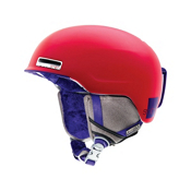 Smith Allure Womens Helmet 2013, Neon Red Typepress, medium