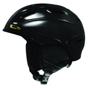 Smith Arrival Womens Helmet 2013, Black-Gold, medium