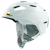 Smith Arrival Womens Helmet 2013, White-Gold, medium