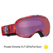 Scott Off-Grid RozG Goggles 2013, Red Purple-Purple Chrome, medium