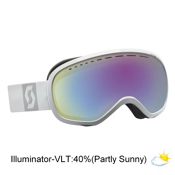 Scott Off-Grid Goggles, White-Illuminator 40, medium