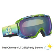 Scott Fix Goggles 2013, Tubes Blue-Teal Chrome, medium