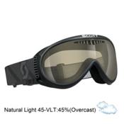 Scott Storm No Fog Fan OTG Goggles 2015, Black-NL 45, medium