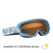 Scott Agent Kids Goggles 2013, Blue-Amplifier, medium