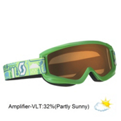 Scott Agent Kids Goggles 2013, Green-Amplifier, medium