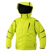 Descente Jr Glade Boys Ski Jacket, Lime, medium
