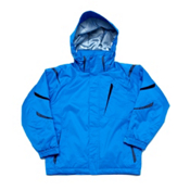Descente Jr Glade Boys Ski Jacket, Turquoise, medium