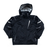 Descente Jr Glade Boys Ski Jacket, Black, medium
