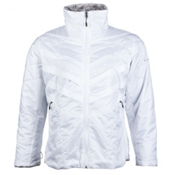 Columbia Kaleidaslope II Womens Jacket, White, medium